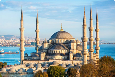 Istanbul grand mosque